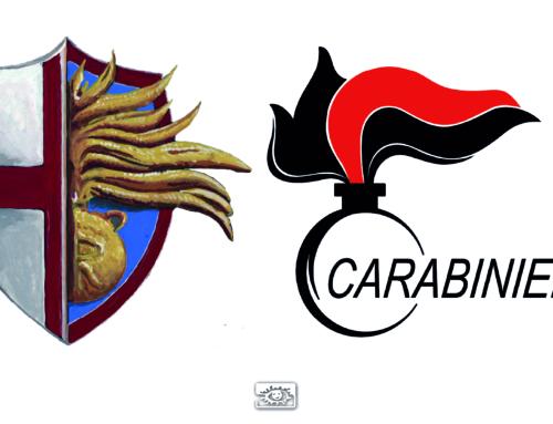 Fregio per Arma dei Carabinieri